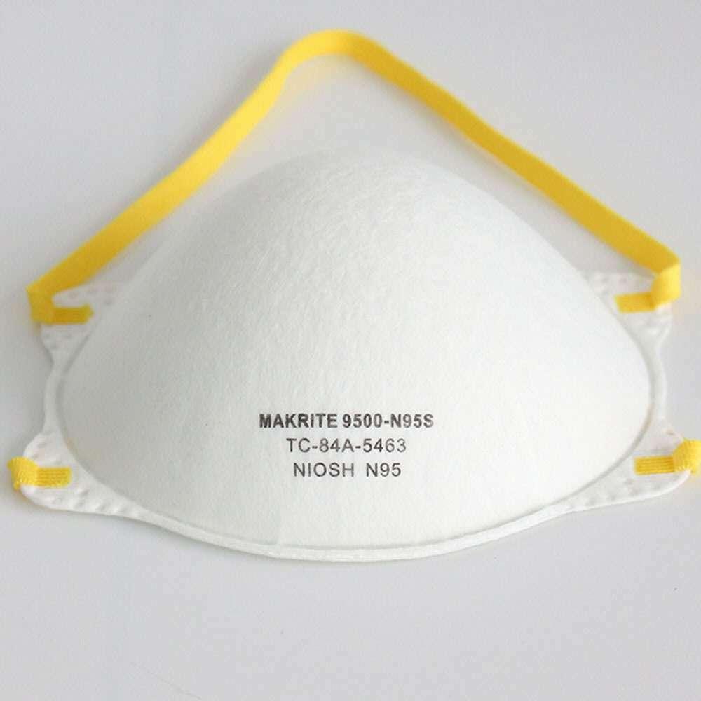 N95 mask Niosh approved Makrite 9500-N95 repirator mask