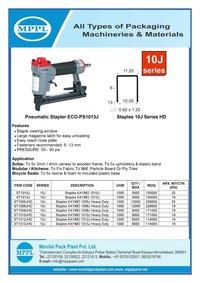 Pneumatic Stapler ECO-PS1013J