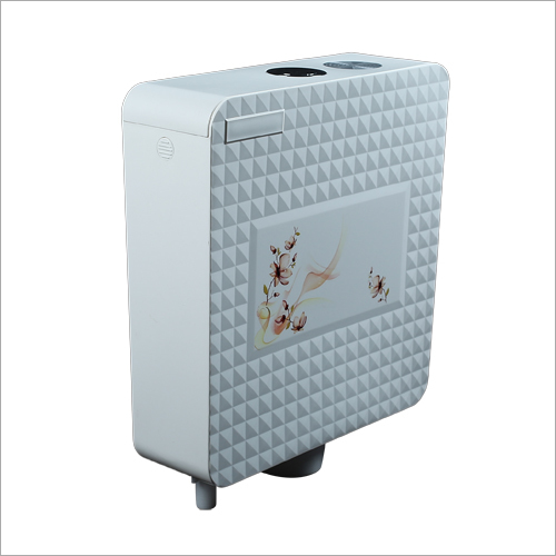 Diamond Center Push Cistern