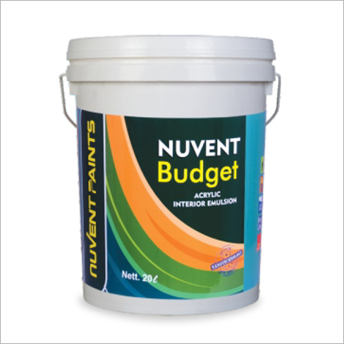 Nuvent Budget Acrylic Interior Emulsion