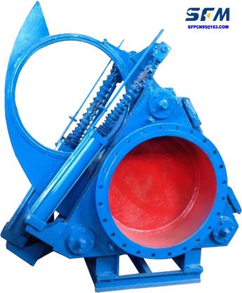Blind plate valves