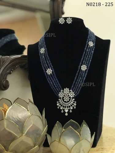 Beautiful American Diamond Necklace set