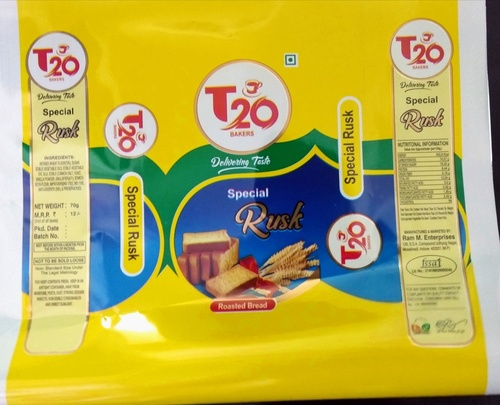 Toast / Rusk Packaging roll