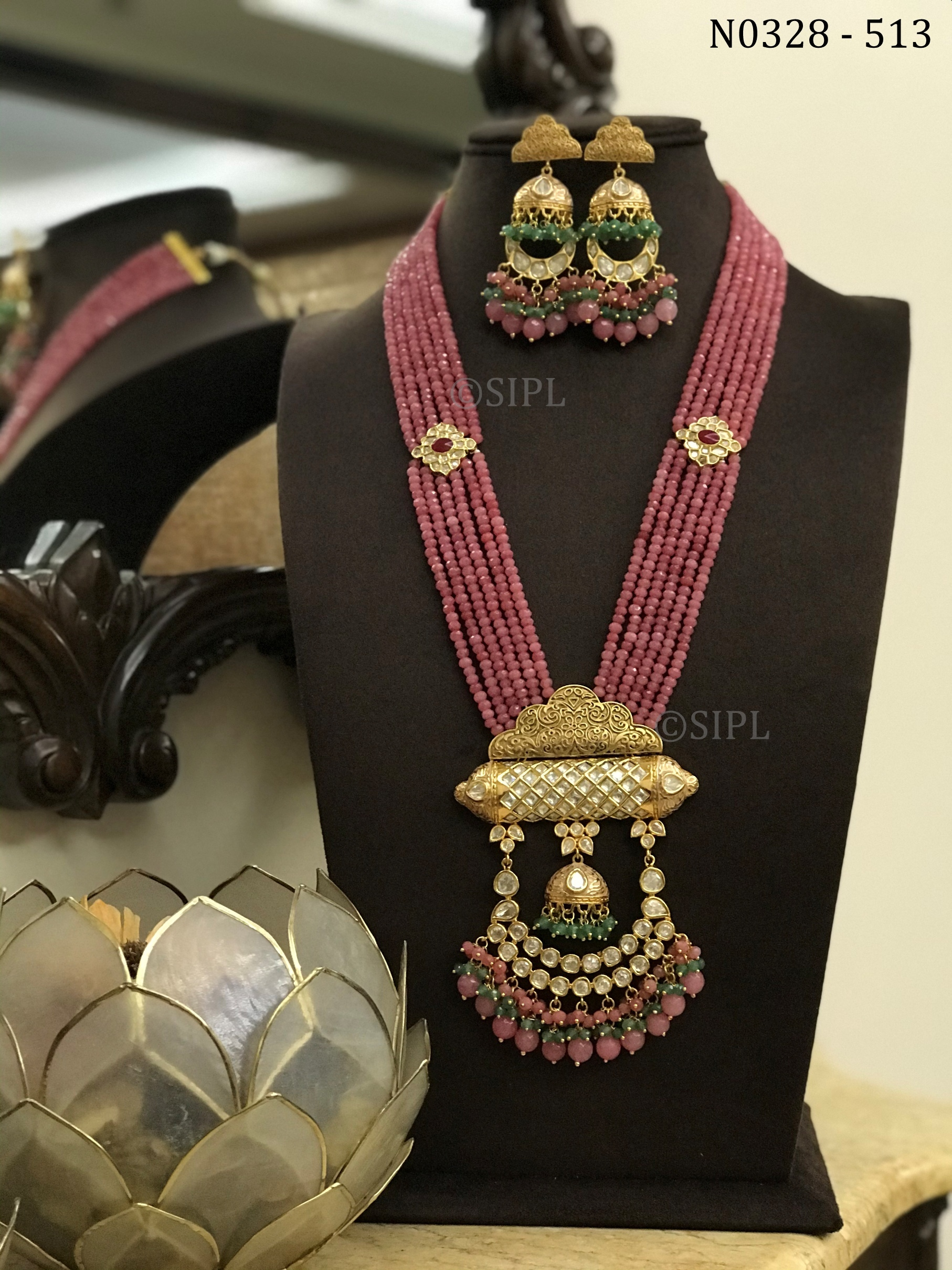 Amazing High Quality Kundan Necklace set