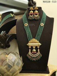 Amazing High Quality Kundan Necklace set