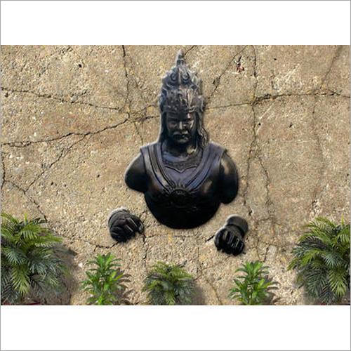 Fiber Bahubali Statue