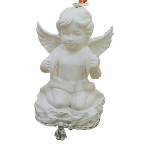 Fiber Baby Angel Statue