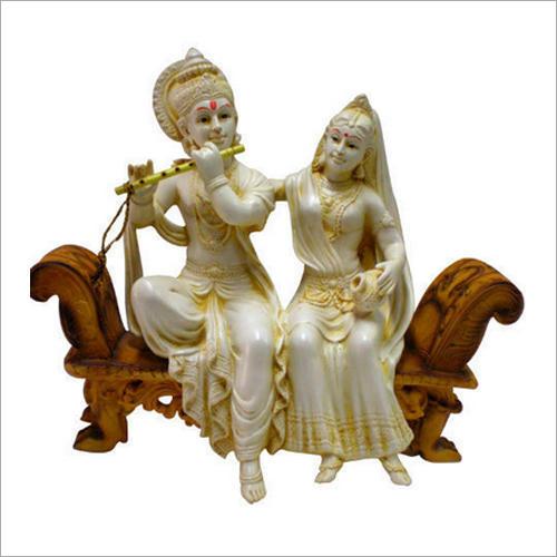 Fiber Lord Radha Krishna Statue