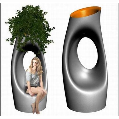 Fiber Decorative Pot