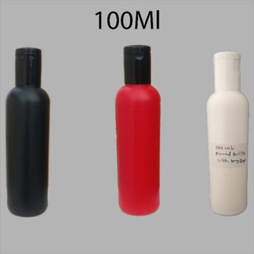 100ml Round HDPE Bottle With Fliptop Cap