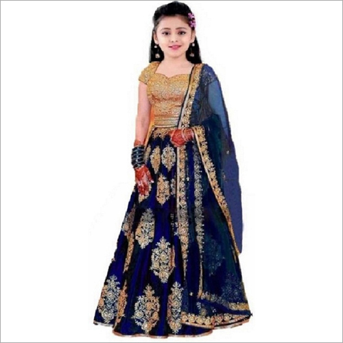 BUTTO Girls Fancy Lehenga Choli