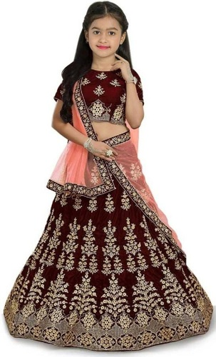 LAHERIYA Girls Designer Lehenga Choli