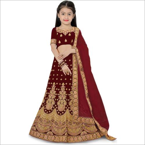 PECH Girls Wedding Wear Lehenga Choli