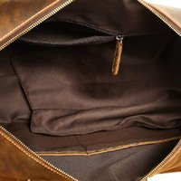 Buffalo Leather Duffel Bag
