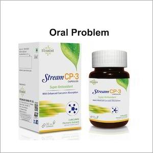 Oral Problem Curcumin Capsule
