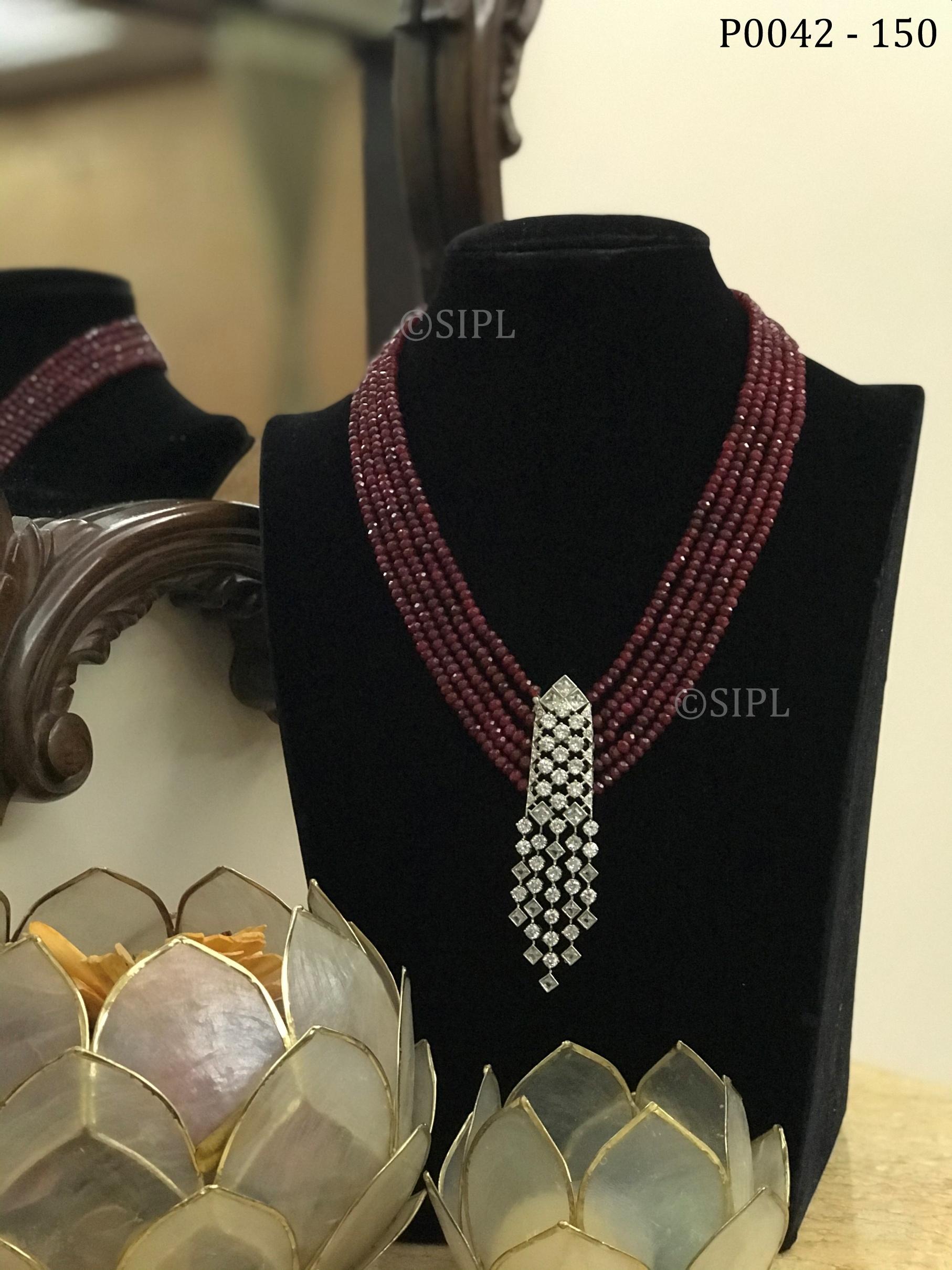 Beautiful American Diamond Pendant