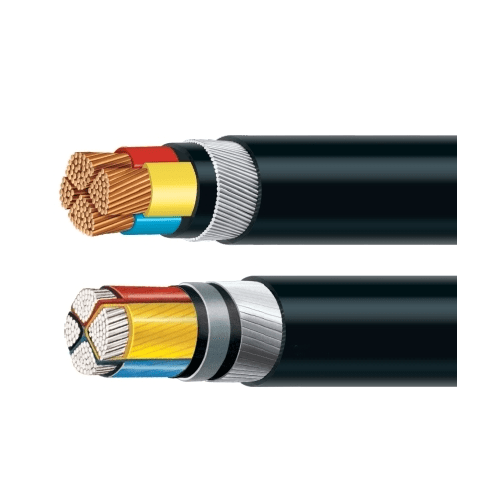 Polycab 25 Sqmm, 4 core A2Xfy Aluminium Xlpe Insu. Armd Str Cable 1.1 Kv As Per Is 7098(Part 1) 1988