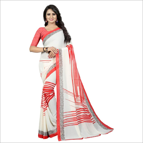 Heavy Georgette Sarees