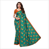 Maalgudi Crackle Saree