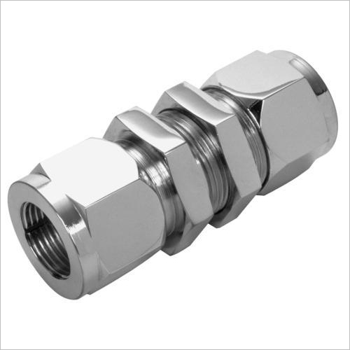 304 Stainless Steel Bulkhead Union For Gas Pipe