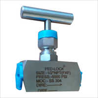 MS Threaded Pneumatic Needle Valve
