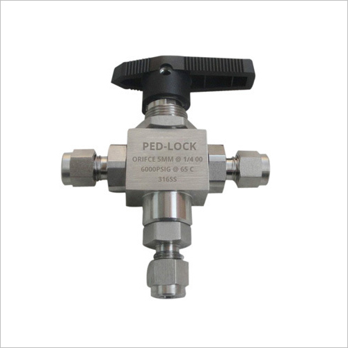 Stainless Steel 200 3 Way SS Ball Valve