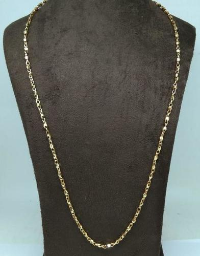 Gold plated mens chain(30 Inch)