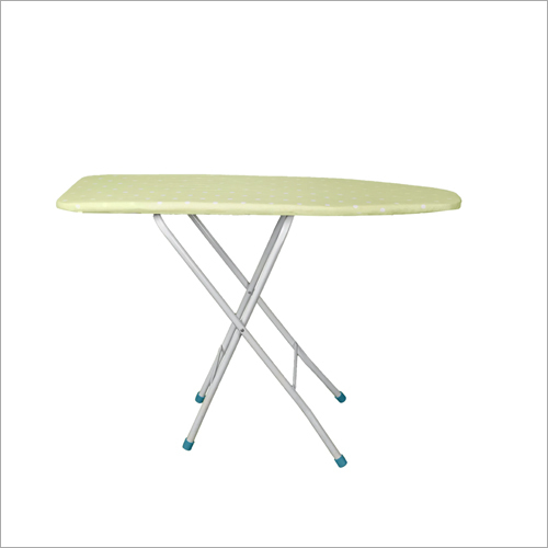 Wooden And Steel Iron Table