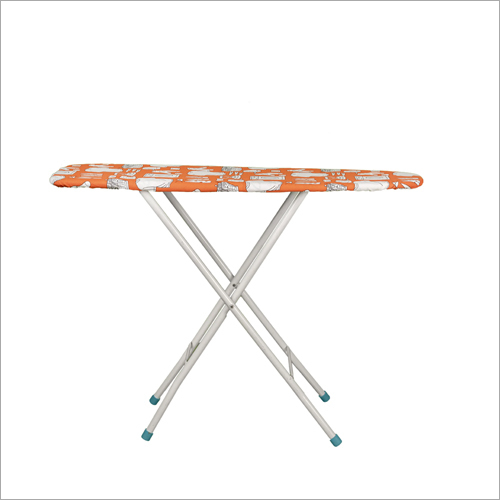 Wooden Top Iron Table