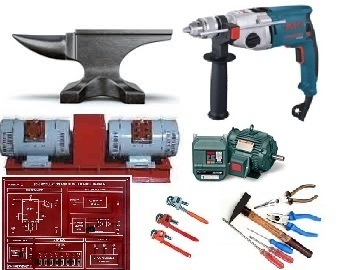 iti training equipments