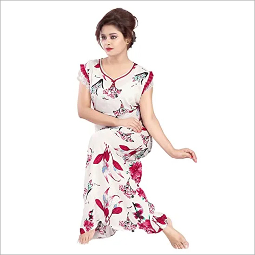 Ladies Floral Nighty