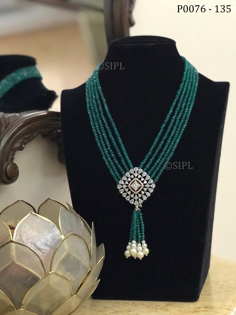 Classic Design Diamond Pendant