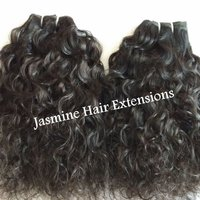 Indian Curly Human Hair,human Hair Weaves