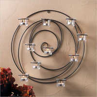 Wall Hanging Candle Stand