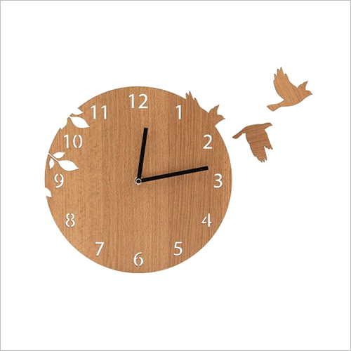 Wooden Wall Hanging Watch