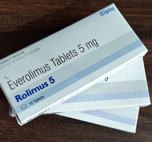 ROLIMUS 5 (Everolimus Tablets 5 mg)