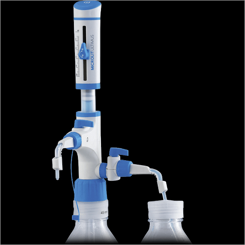 Microlit Ultimus Bottle Top Dispenser With Patented Dual Inlet Technology