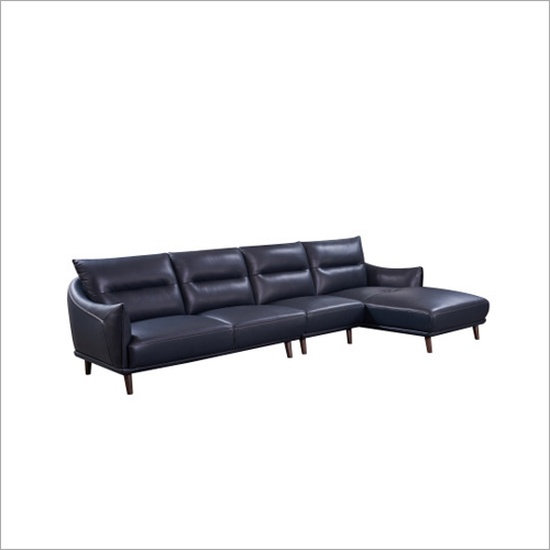 L Shape Modern Furniture Leather Sofa