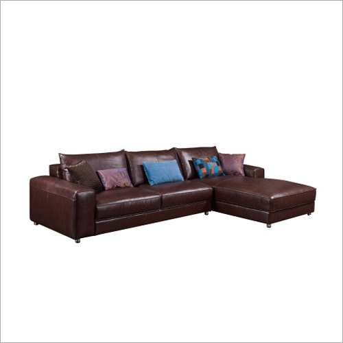 L Shape Modern Leather Sofa