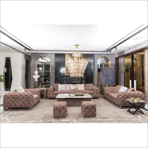 Modern Italian High End Full Leather Sofa