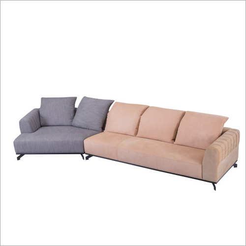 Modern Leather Suede Sofa
