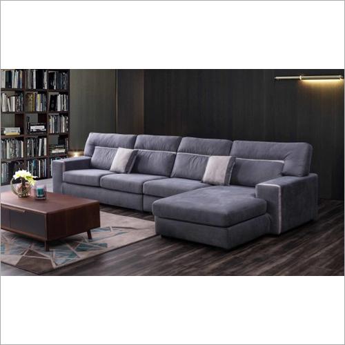 L Shape Furniture Sofa Fabric