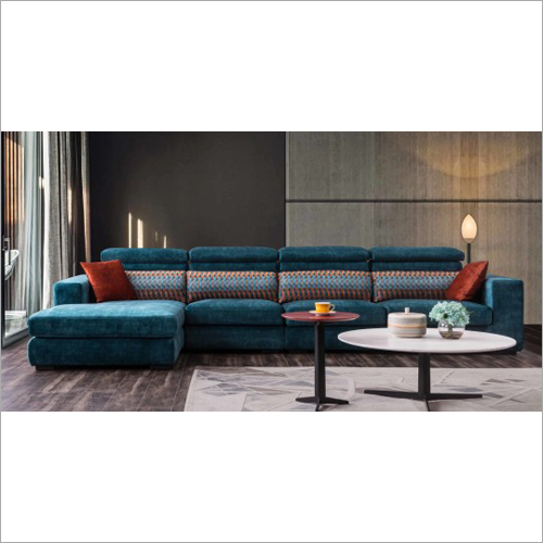 Fancy L Shape Sofa Fabric