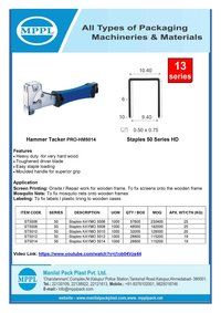Hammer Tacker PRO-HM5014