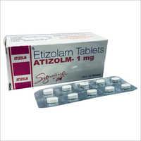1 mg Etizolam Tablets