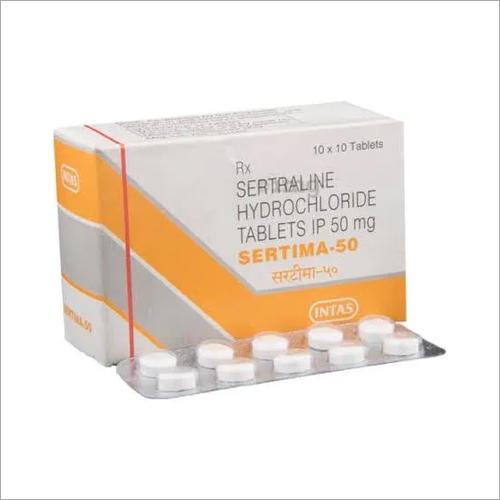 50 mg Sertraline Hydrochloride Tablets IP
