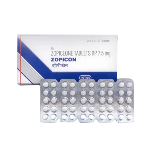 7.5 mg Zopiclone Tablets