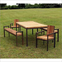 Contemporary Patio Dining Set