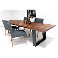 Industrial Modern Dining Set