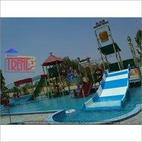 Famiy water slide
